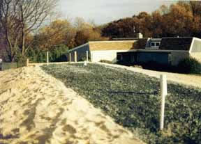 Sand Mound Certified Septic Systems in Baltimore, Harford, Carroll, Cecil County, Maryland.